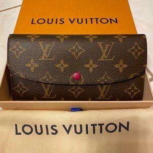 SOLD!!! Authentic Louis Vuitton Emilie Wallet